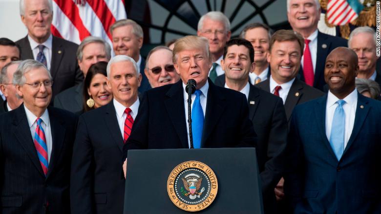 Why Republicans celebrate an unpopular TaxReform?